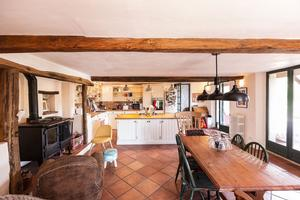 Domaine De La Liberte, French Country Cottage in Esparron and Haute-Garonne. Kitchen.