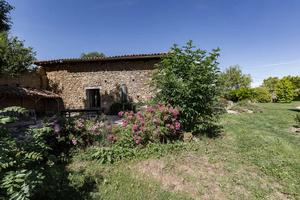 Domaine De La Liberte, French Country Cottage in Esparron and Haute-Garonne. House exterior side.